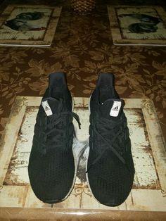 d90202971f0 ADIDAS ULTRABOOST ULTRA BOOST 4.0 BB6166 MENS 14 RUNNING SHOES BLACK WHITE   fashion