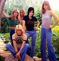 The Runaways: The first female rock band They fascinated me. I wanted to be them. Finally a way for girls to be part of the rock world besides being a groupie.