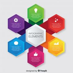 Infographic elements collection Free Vec... | Free Vector #Freepik #freevector #infographic #business #template #infographics Infographic Template Powerpoint, Free Infographic, Powerpoint Slide Designs, Powerpoint Presentation Templates, Power Point Gratis, Flow Chart Design, Web Design, Presentation Design, Vector Free