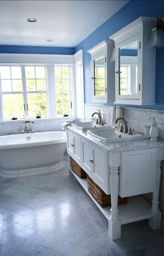 Sherwin-Williams Dynamic Blue (SW 6958) #SherwinWilliams #paintColor #DynamicBlue