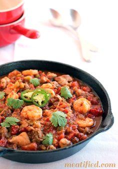 Easy Slow Cooker Paleo Meals - Jambalaya