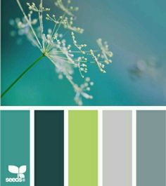 Image result for color palette lime green teal