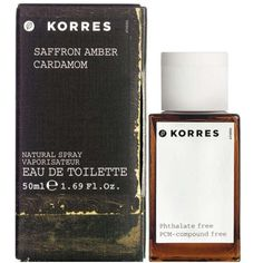 Korres Saffron, Amber & Cardamom Edt (50ml): Image 01 BECAUSE I also would love to smell like cardamom