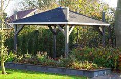 Interflex HP3500 hooibergpaviljoen Outdoor Living, Outdoor Decor, Gazebo, Outdoor Structures, Home Decor, Outdoor Life, Kiosk, Decoration Home, Room Decor