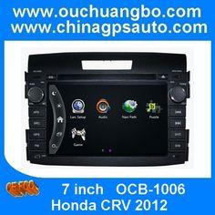 Ouchuangbo Car GPS DVD Player USB RDS Sat Nav BT iPod Honda CRV 2012