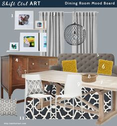 Designing a room around loved pieces