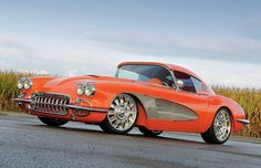 Gorgeous '59 Custom Chevy Corvette Convertible