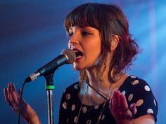 Lauren Mayberry of CHVRCHES (Glasgow, Scotland) at Taco Bell's Hype Hotel during #SXSW2013 - Austin, TX