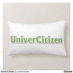 Shop UniverCitizen Lumbar Pillow created by univercitizen. Lumbar Pillow, Bed Pillows, Pillow Cases, Custom Pillows, Pillows