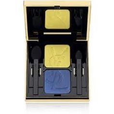 Yves Saint Laurent Eye Shadow Duo  37 Scorching Yellow  Blistering Blue >>> This is an Amazon Affiliate link. Check out this great product.