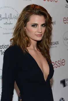 Stana Katic...  So pretty!  This is who I think your twin is, @Keisha Egbert Egbert Lemmon-Clifford!!!