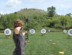 Outdoor Archery Ranges Vacaville California I really want to try this for a date!!!!