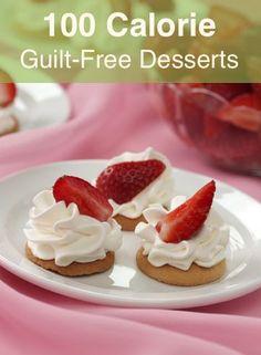 More than 10 low calorie dessert ideas.
