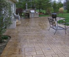 ArtCrete | Concrete Services, Driveways, Patios | Akron, OH-I like the color of this patio