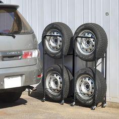 薄型タイヤラック(カバー付き)2個組|通販のベルメゾンネット My House, Vehicles, Projects, Vehicle