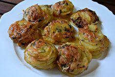 ΜΑΓΕΙΡΙΚΗ ΚΑΙ ΣΥΝΤΑΓΕΣ: Πατάτες στο φούρνο --αλλιώς ..!!! Finger Food Appetizers, Finger Foods, Appetizer Recipes, Greek Recipes, Vegan Recipes, Cooking Recipes, Easy Cooking, Cooking Time, Potato Recipes