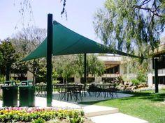 sun sails patio shade ideas - Inexpensive Patio Shade Ideas