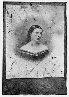 Confederate spy Rose O'Neal Greenhow, circa 1855-1865. #civilwar