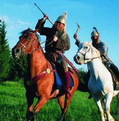 Merowinger Reiterkrieger