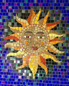 Mirror Mosaic, Mosaic Glass, Mosaic Artwork, Mosaic Bathroom, Mosaic Backsplash, Marble Mosaic, Tile, Mosaic Crafts, Mosaic Projects