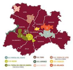 Denominaciones de origen en Castilla y León