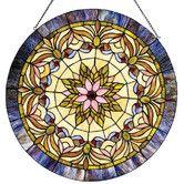 Found it at Wayfair - Tiffany Edwardian Man Window Panel