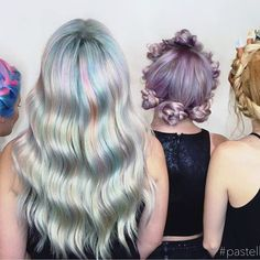 Our 💕sweet💕models for yesterday's Pastels•Braids•Business class. Thank you to everyone who came, tag yourself below and tell us something you learned? . . . . . . . . . . . .  #pastelbraidlove #pastelhair #unicornhair #mermaid #rainbowhair #pinkhair #bluehair #fishtailbraid #crownbraid #metallichair #silverhair #lilachair #redhead #crimpedhair #peachhair #flowercrown #crystalsticks #lasvegashair #lasvegashairstylists #summerlinsalon #hairtalk #hairlove #hairlife #hairinspo #braidinspo…
