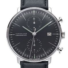 Amazon.com: Junghans - Max Bill Chronoscope Model: 027/4601.00: Watches
