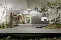 Wnętrze japońskiego sklepu ze skórzaną galanterią