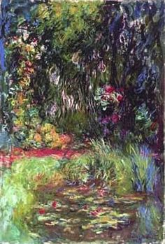 Water Lily Pond, 1918  Claude Monet