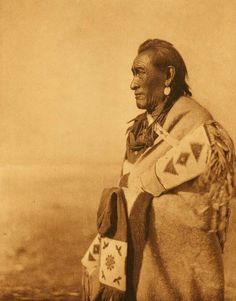 American Indians : A Typical Blackfoot.