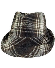 BKE Plaid Fedora