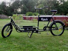 Danish Long-John cargo bike.