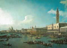 Canaletto - Venice: The Basin of San Marco on Ascension Day, 1740
