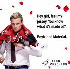 Celebrate Valentine's Day with some awesome cards created for hockey fans! Sorry if your team isn't listed here, but at least the puns are perfect from the other teams!