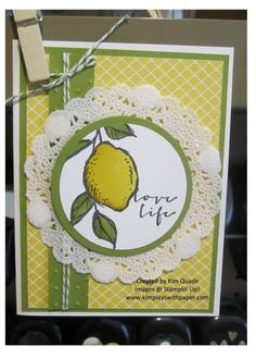 Stampin Up Sale-a-bration 2015 free stamp set called A Happy Thing