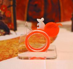 Cinderella  Acrylic 3 Ring Set