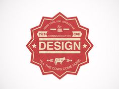 fantastic logo designed by Lim Seng Jeuh (http://dribbble.com/cows-dont-sleep)