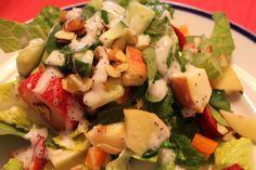 Strawberry Apple Salad