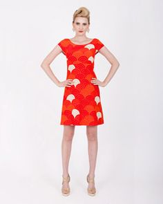 Oh, how I want you orange dress.  Alas you are too expensive and I have no event to wear you to