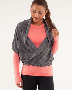 Lululemon Vinyasa Scarf...love this scarf can wear it so many different ways. My favorite as a halter top.