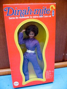 Mego's 1973 Dinah-mite doll