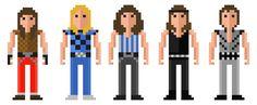 Iron Maiden. #51, 52, 53, 54 and 55.