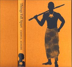 Book cover of Folio Society's 2008 edition of Things Fall Apart