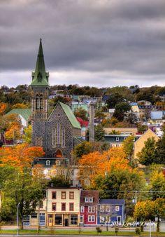 Patrick's Church in the fall , St. Patrick's Church in the fall , St. Jamaica, Barbados, Newfoundland Canada, Newfoundland And Labrador, O Canada, Canada Travel, Alberta Canada, Gros Morne, Atlantic Canada