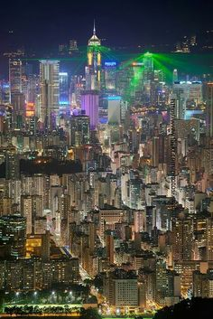 Lights of Hong Kong!