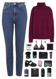 """""""get to know me set"""" by rattle-the-stars ❤ liked on Polyvore featuring Topshop, H&M, Monki, Butter London, Acne Studios, Origins, Givenchy, Fresh, NARS Cosmetics and Jeffrey Campbell"""