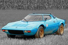 You won't see too many rally cars on the road today, and are even less likely to see one like this 1975 Lancia Stratos HF Stradale. Designed by Italian auto company Gruppo Bertone, the Stratos comes equipped with a Dino...