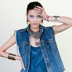 Is blue the coolest eyeshadow color for fall? via @stylelist | http://aol.it/1pQ78hE