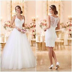 """""""Two #sostella dresses in one?! #obsessed  Which look is hotter? #stellayork #6223"""""""